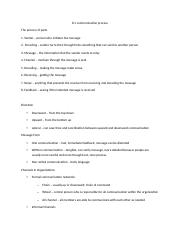 Lecture 8.1 Lecture Notes (Communication Process).docx