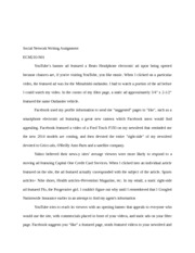 ECM210-N01 - Social Network Writing Assignment