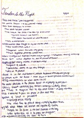 Tender is the Night Class Notes
