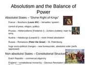 H102-2 - Absolutism and the Balance of Power