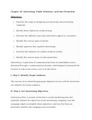 Marketing - Chapter 18 Guide.docx