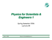 PHY183-Lecture28