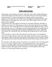 games paragraph