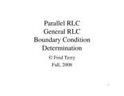 20-SOC II-Parallel RLC & General RLC