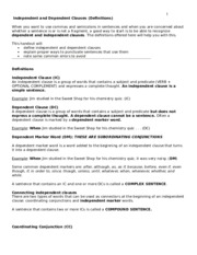 independent and dependent clauses.doc