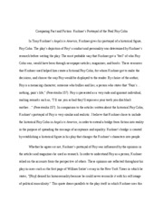 angels in america essay a look into the identity of roy cohn  7 pages angels in america essay 3 draft