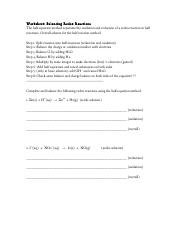 redox-balancing-worksheet.pdf - Worksheet Balancing Redox Reactions ...
