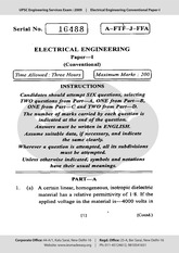 F1153464Electrical_Conventional_Paper_I_2009