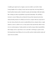Conceiving a child to save a child 3 sentance summary