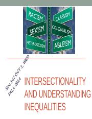 Oct 1  - INTERSECTIONALITY.pptx