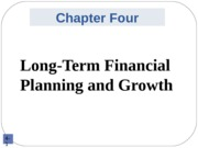Slides for June 26_Chapter4_Long Term Financial Planning