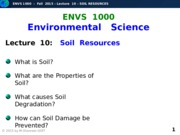 F2015-Lecture 10-Soil Resources-posted
