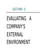 Lecture-3 External Environ. Analysis.ppt