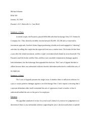 Pusateri v EF Hutton Case Brief.docx