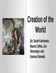 Creation of the World.pptx