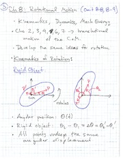 PHYS 1118 Fall 2010 Rotational Motion Lecture Notes
