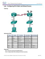 2.2.2.5 Lab - Configuring IPv4 Static and Default Routes (1) (1).pdf