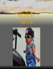 Ch 3-Nature Vs. Nurture.ppt