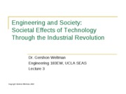 03 - Technology to the Industrial Revolution