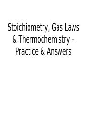 Stoichiometry__Gas_Laws___Thermochemistr
