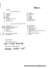 Feiretag Worksheet