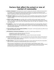 LESSON-Factors that affect the extent or size of market of commodity.docx
