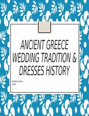 Ancient Greece Wedding Tradition & Dresses History.pptx