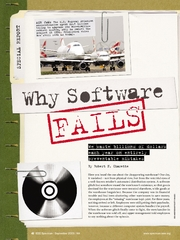 Why software fails