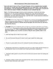 HW6 Phil 6 Summer 2014 Explanations and Fallacies-1