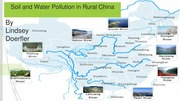 Student generated Soil and Water Pollution in Rural China PowerPoint