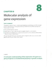 Gene Expression methods (skip310-315)