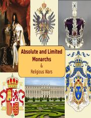 07 - Absolute & Limited Monarchs - Davis 2017.ppt