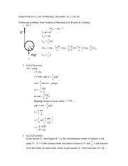 PHYS310_homework_11_solutions