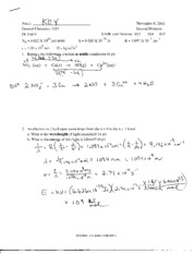 Old Exam #2 With Solutions