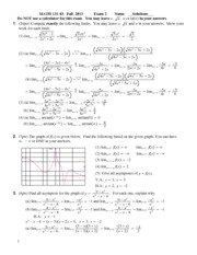Exam solutions 4