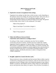 PHLA10 Reason and Truth- Exercise 3.docx