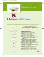 E- commerce Chapter 5