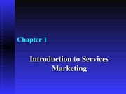 Intro to Service Marketing