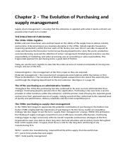 Strategic Supply Management - Chapter 2.docx