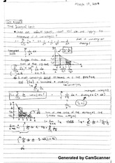 Class notes on Integral Test