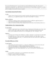 Review Sheet Psychology 290
