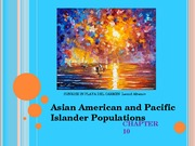 Chapter 10 Asian American and Pacific Islander Population