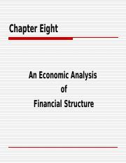 (BBA)2014_CH8 Financial Structure