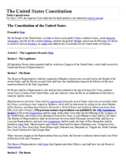 Lesson_40_The United States Constitution