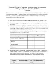 Universal Design for Learning Assessment (Home Module 3)(1) (2).docx