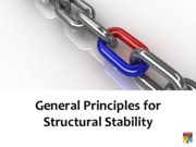 General Principles for Structural Stability