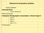 110_P1_IntroAnalysis how to wirte a paragraph