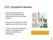 IV.B.Competitive_Markets.2014.With Lecture