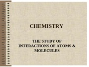 CHEMISTRY (LECTURE NOTES)