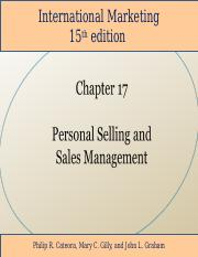 Student_International_Marketing_15th_Edition_Chapter_17.ppt